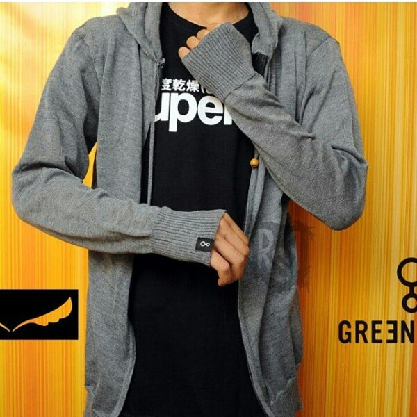 Sweater Ariel Greenlight Abu-Abu