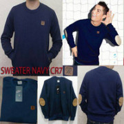 Sweater CR7 Dongker