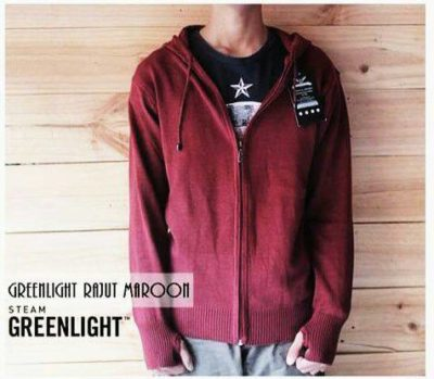 Sweater Ariel Greenlight Maroon