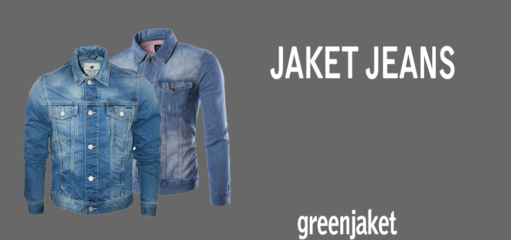 jaket jeans pria wanita