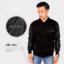 Jaket Semi Kulit Sintetis ARL-HB2 Black/Hitam