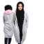 Jaket Hijacket Grey & Baby Pink HJ-12-12