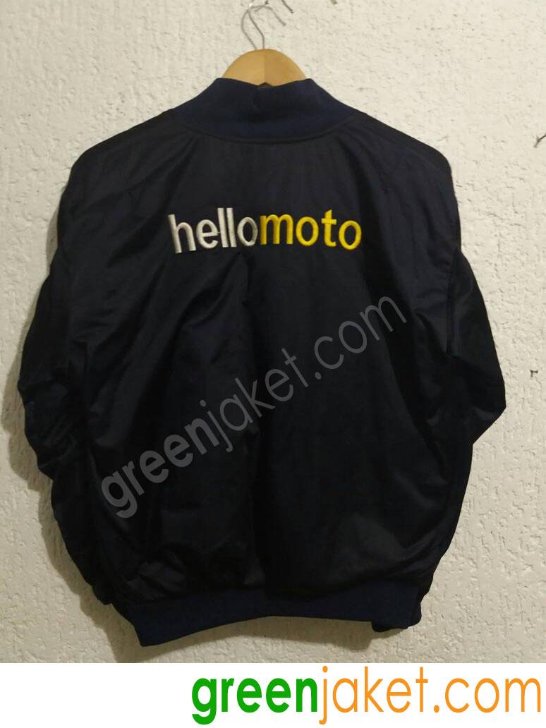 Jaket Bomber Hello Moto 1