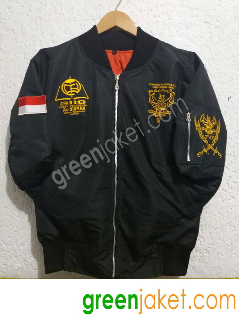 Jaket Bomber Ponpres Al Hikmah Pusat 1