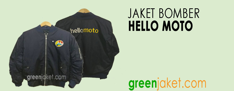 Jaket Bomber Hellomoto