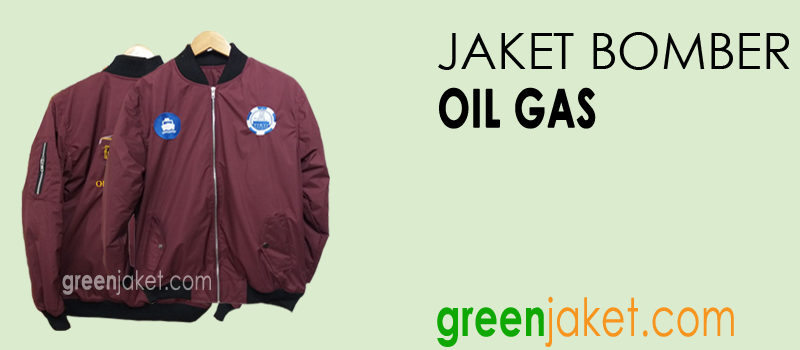 DISPLAY JAKET BOMBER GAS OIL