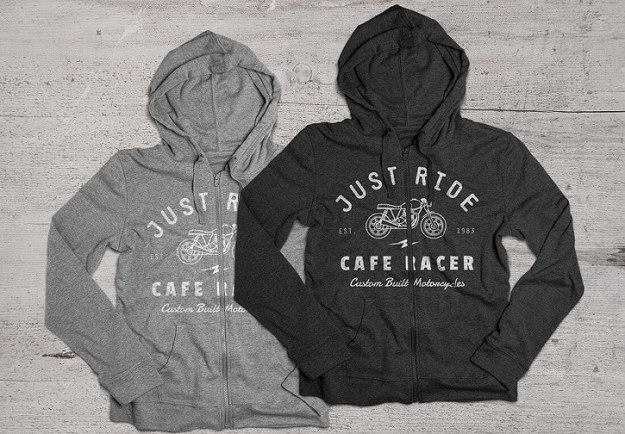 jaket desain hoodie mockup psd