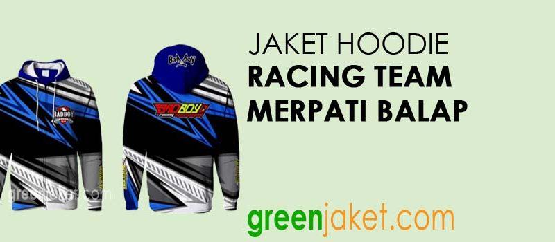 Jaket Hoodie Racing Team Merpati Balap