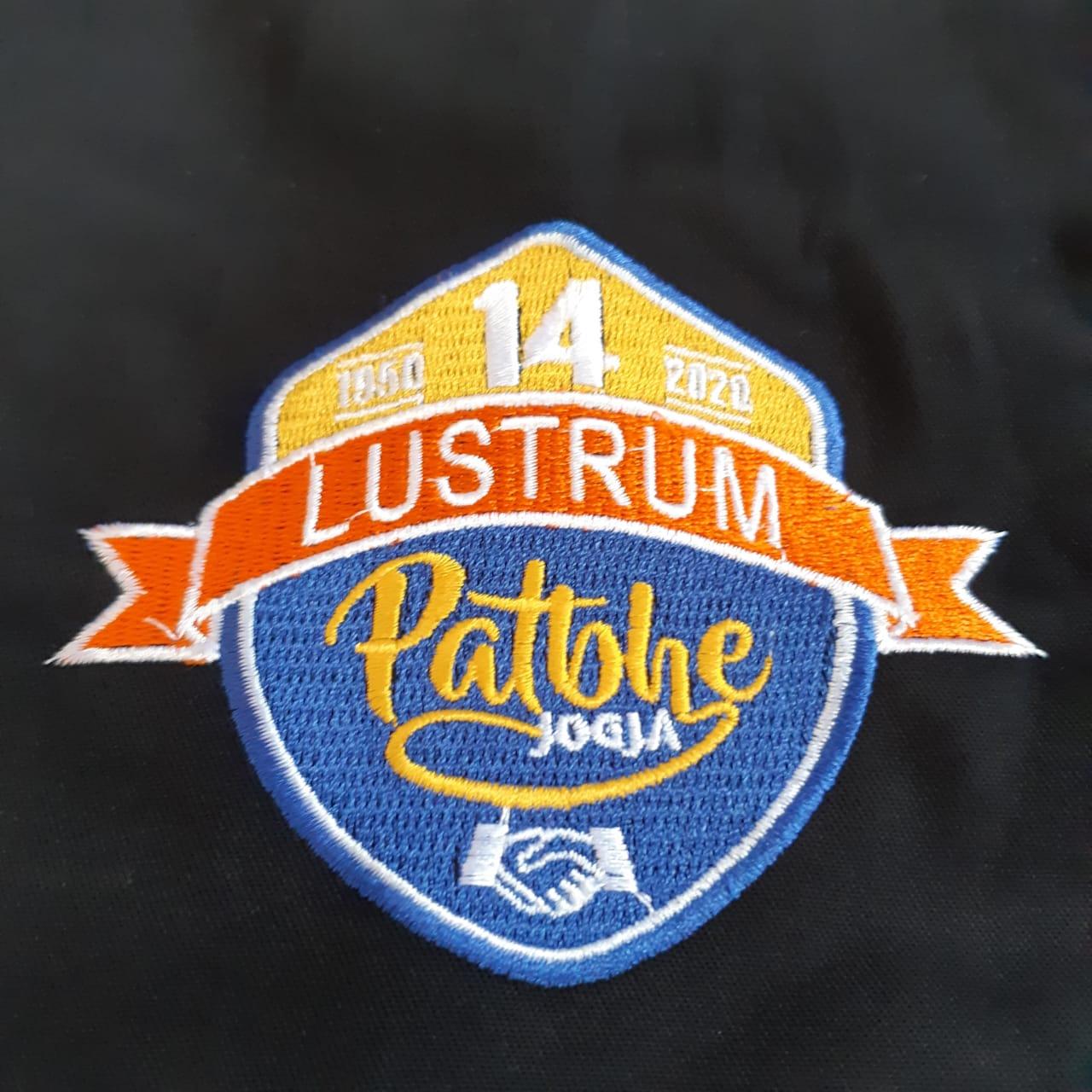Lustrum patbhe jogja Jaket Logo Komunitas