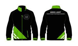 Contoh Desain Jaket Perusahaan